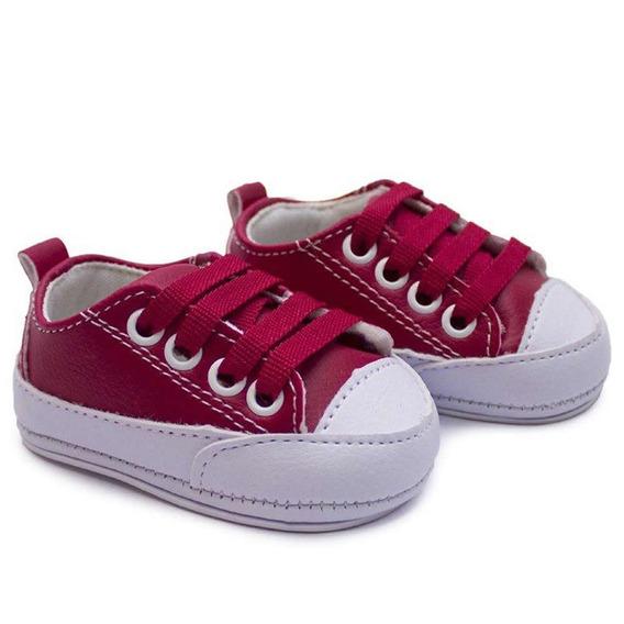 Tênis Sapato Para Bebê Com Cardaço Infantil Menino Baby Way