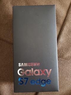 Caixa Do Samsung S7 Edge Novíssima (grátis Fone Samsung)