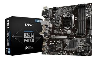 Tarjeta Madre Msi Micro-atx B365m Pro-vdh S-1151 Intel Ddr4