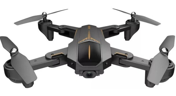 Drone Visuo XS812 con câmera Full HD Black
