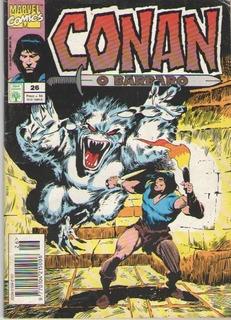 Revista Conan, O Barbaro - Ed. 26 - 84pg - 1994 - Quadrinhos