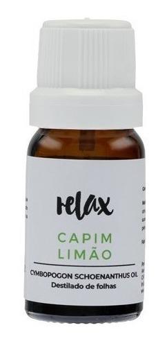 Relax - Aromaterapia - Óleos Essenciais - Capim Limão