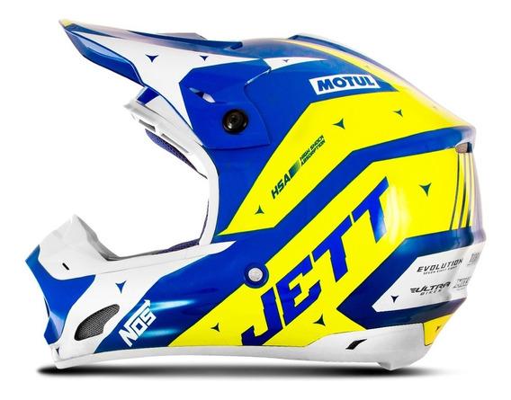 Capacete Feminino Motocross Pro Tork Jett Evolution 2