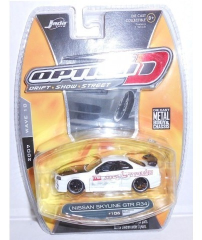 Jada - Nissan Skyline Gtr R34 Branco - Option D