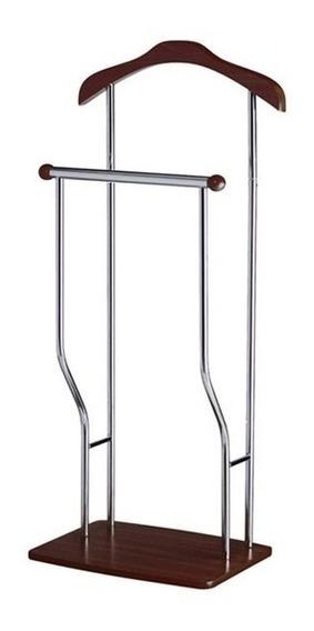 Perchero Doble De Acero Inoxidablable 419488 Namaro Design