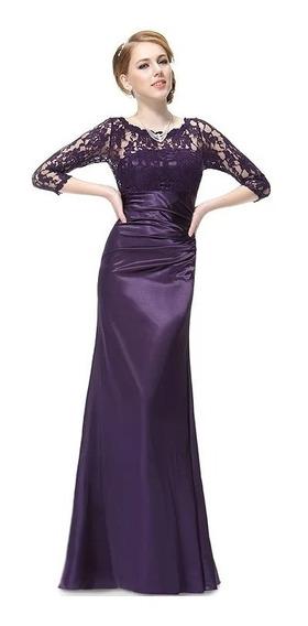 Vestido Mujer De Noche, Gala Fiesta Elegante ,grado