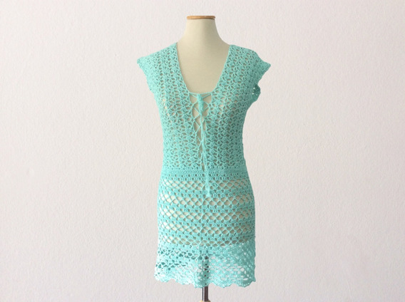 Vestido Crochet Playa Sexy