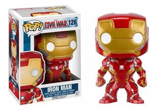 Funko Pop Cap America 3 Iron Man