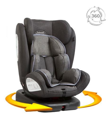 Imagen 1 de 6 de Silla Para Carro Bebe Giro Bebesit 0 M+ A 12 Años Isofix