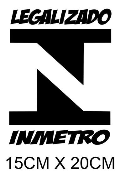 2 Adesivos Rebaixado Legalizado Inmetro Xenon Turbo Fixa