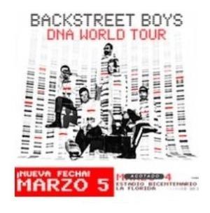 Entradas Backstreet Boys - Cancha General 4 Marzo