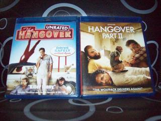 Lote Que Paso Ayer 1 Y 2 Blu Ray Original The Hangover