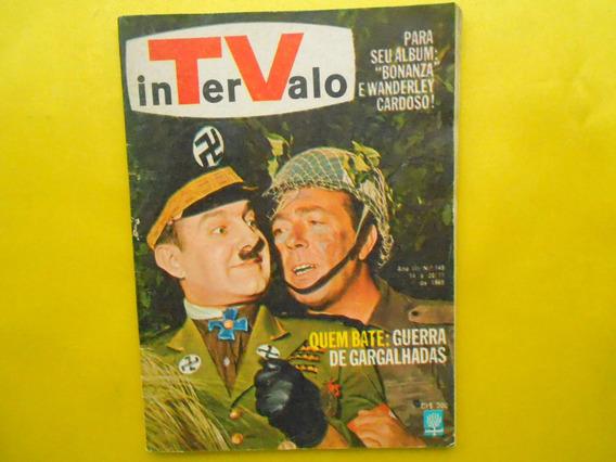 Revista Intervalo Ano Iii Nº145 De 14 A 20/11/1965