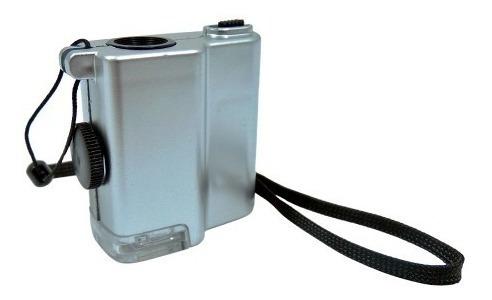 Microscopio Mini 55x Escala 0.01 Mm Led Obi