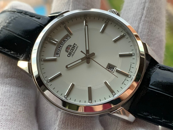 Relógio Orient Bambino Automatic Fev0u003wh