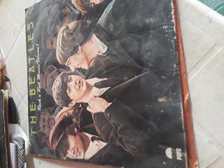 (antiguedad) 4 Discos Para Toca Discos De Los Beatles