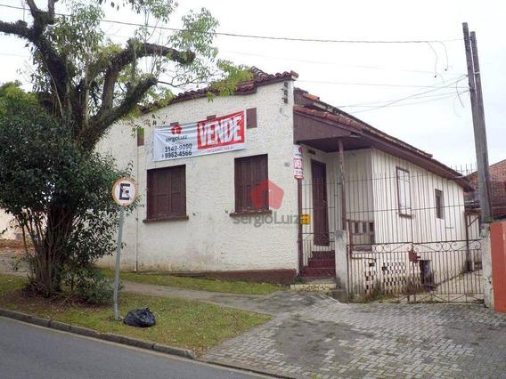 Terreno Residencial À Venda, Mercês, Curitiba - Ca0037. - Te0018