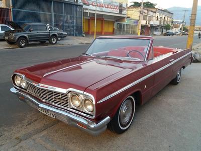 Chevrolet Impala Conversível 1964 Doc Em Dia Raridade