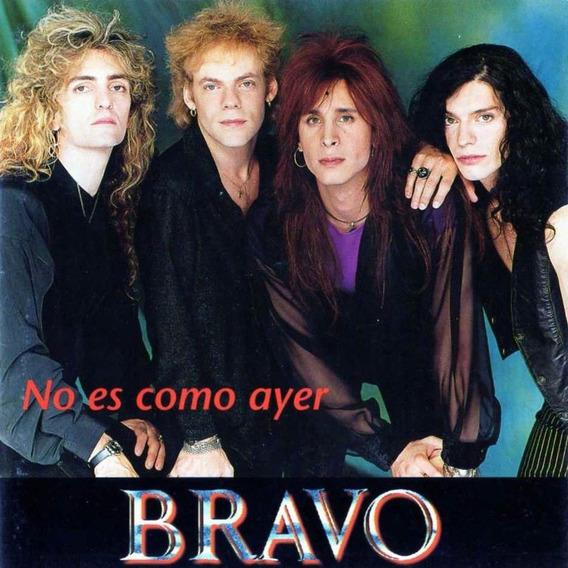 Bravo Cd No Es Como Ayer 1995 Ex Banda De Cae