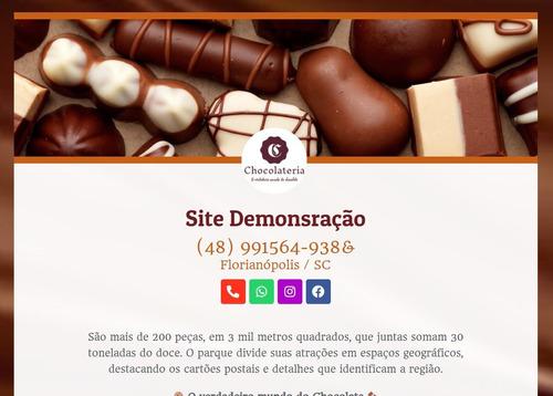 Criação De Site E Cartão De Visitas Digital E Interativo