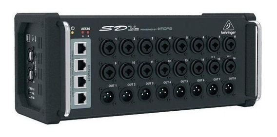 Stage Box Sd16 Behringer 16-in/16-out Com Pré Midas