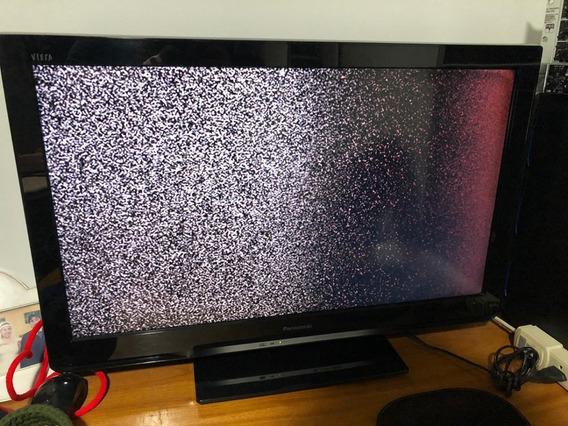 Tv Panasonic Lcd 32 Polegadas - Tc-l32u30b Com Defeito