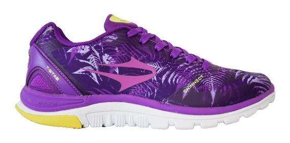 Zapatillas Topper Running Stretch Iii Violeta Mujer
