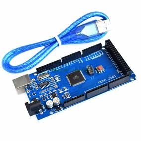 Arduino Mega R3 2560 Atmega Com Cabo Usb + Brinde