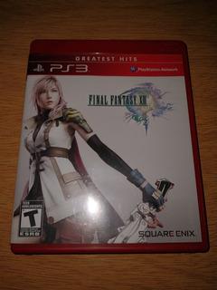 Final Fantasy Xiii Greatest Hits Juego Físico Ps3