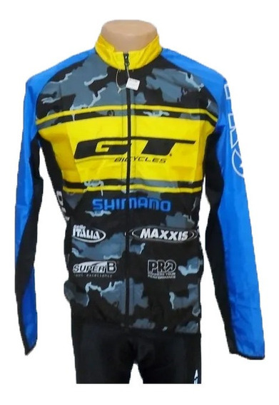 Campera Ciclismo Bicicleta Gt Rompeviento Shimano Maxxis - Racer Bikes
