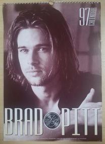 Brad Pitt Calendário 1997 Importado