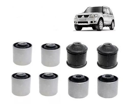 Imagem 1 de 5 de Kit Bucha Braço Inferior E Superior Mitsubishi Pajero Tr4 Io