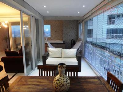 Cobertura Duplex Mobiliada Vias Jardim Do Bosque 3 Dorms, 3 Vagas Vista Bosque Maia - Ap0208