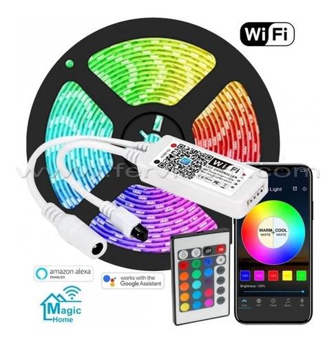 Controlador Antena Wifi Para Cinta Led Rgb 5050 + Conbtrol