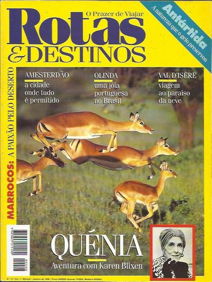 3 Edições Rotas & Destinos: Jan, Fev, Mar / 1996