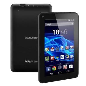 Tablet Multilaser 7 M7s Quad Core 4.4 2 Cam Nb184