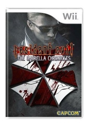 Wii Resident Evil Umbrella Chronicles - Americano