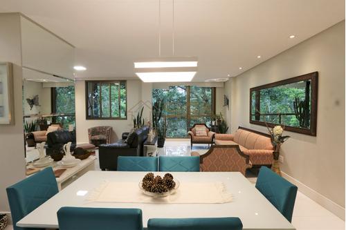 Imagem 1 de 15 de Cobertura Duplex, Salão Em 3 Ambientes E 2 Suítes No Cônego - 311