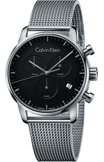 Relógio Calvin Klein - City - Prata - K2g27121