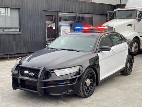 Imagen 1 de 6 de Ford Interceptor Police 2017 4p V6/3.5 Aut