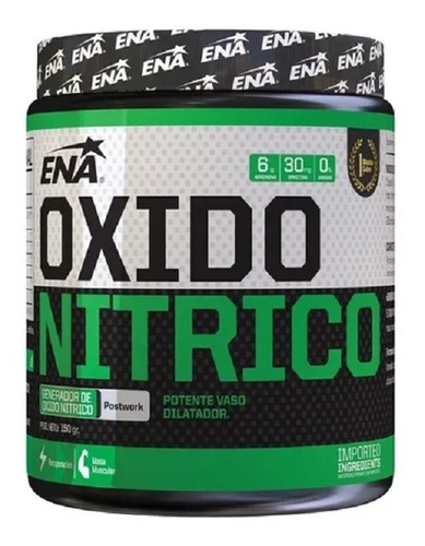 Óxido Nítrico (150 Grs) - Ena Sport  Aumento De Masa