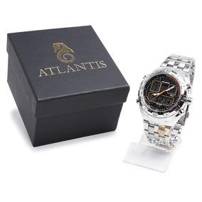 Relógio Atlantis Masculino G3225 Original C/ Garantia E Nf