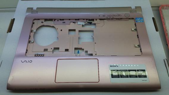 Carcaça Base Teclado E Inferiornotebook Sony Sve14ae13x Rosa