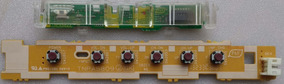 Sensor Cr + Teclado Tv Panasonic Tc L39em6b(tnpa5822