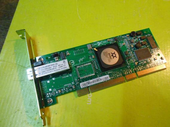 Placa Qlogic Fibra Optica Ftrj8519f1knl-ql Pci-x 133