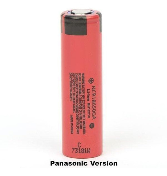 Bateria Ncr18650 Sanyo / Panasonic 3500mah 50g 3.7v 10a