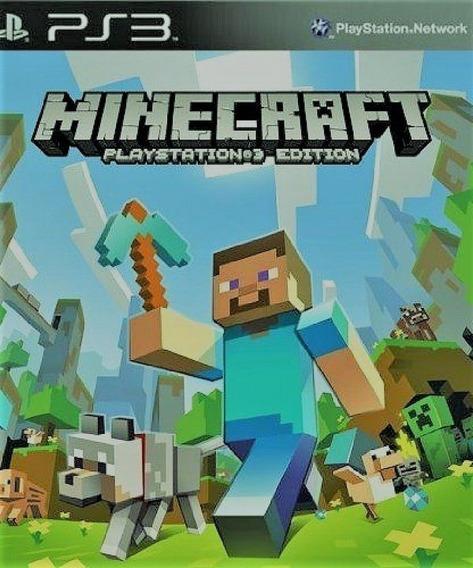 Minecraft Português Ps3 - Midia Digital