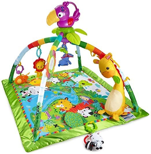 Tapete Infantil Fisher-price Rainforest Music & Lights Gym