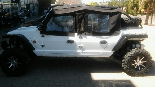 Utv Wrangler 1100cc 4 Plaza Motor Qq Cherry