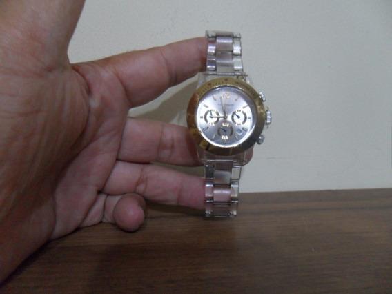 Relógio Technos Os20.ch Cronógrafo Pulseira Acrilica 40mm